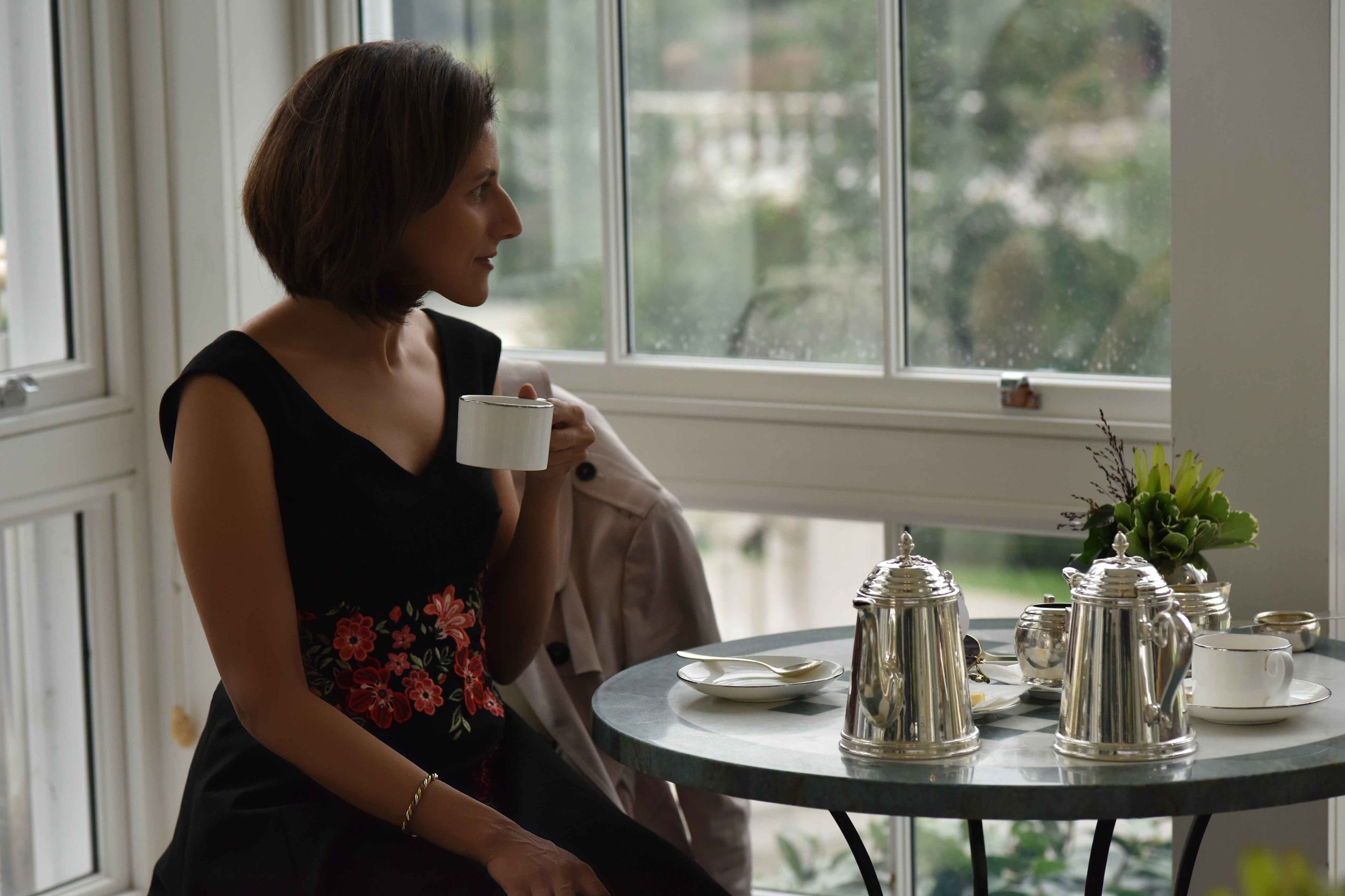 High tea, Coworth Park hotel and spa, Dorchester Collection, Ascot, UK. Photo: Nina Shaw. Image©thingstodot.com