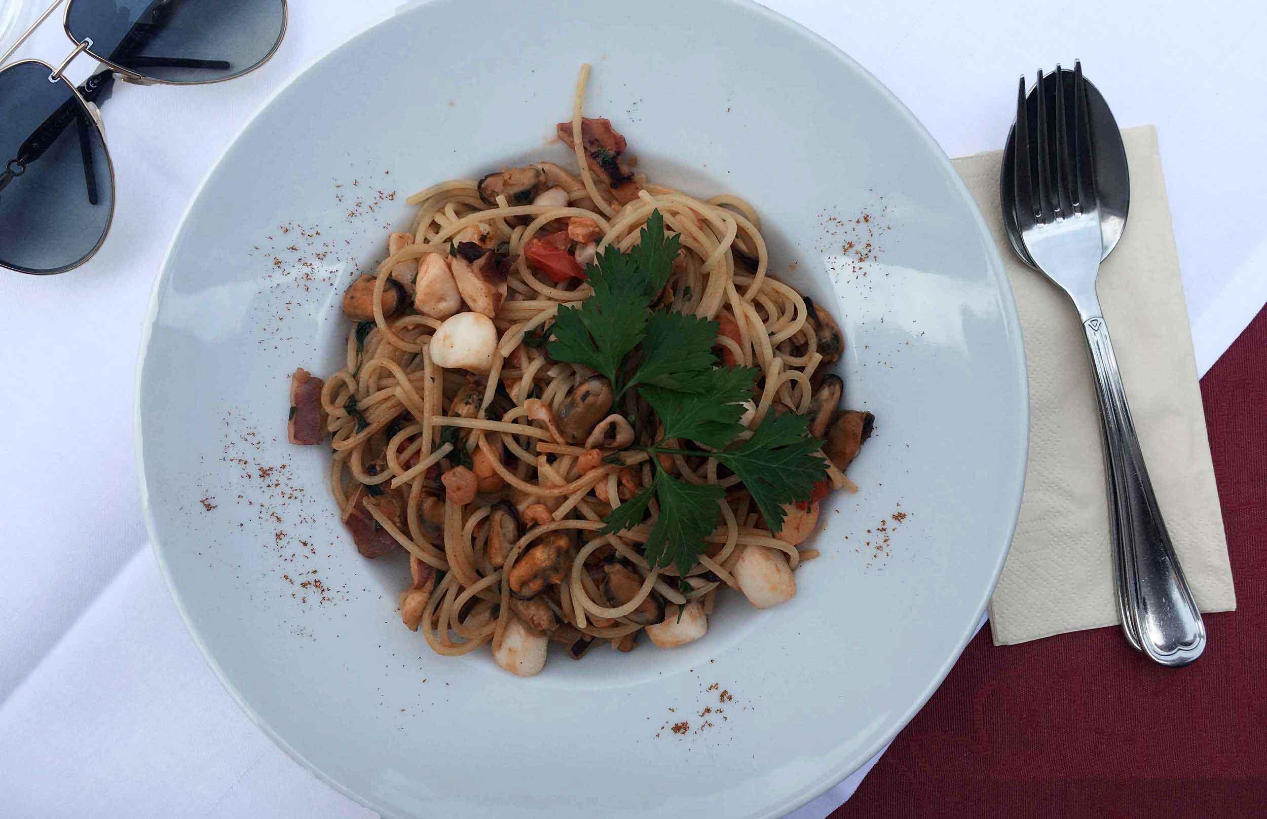 Italian food,Baden Baden, Germany. Image©thingstodot.com
