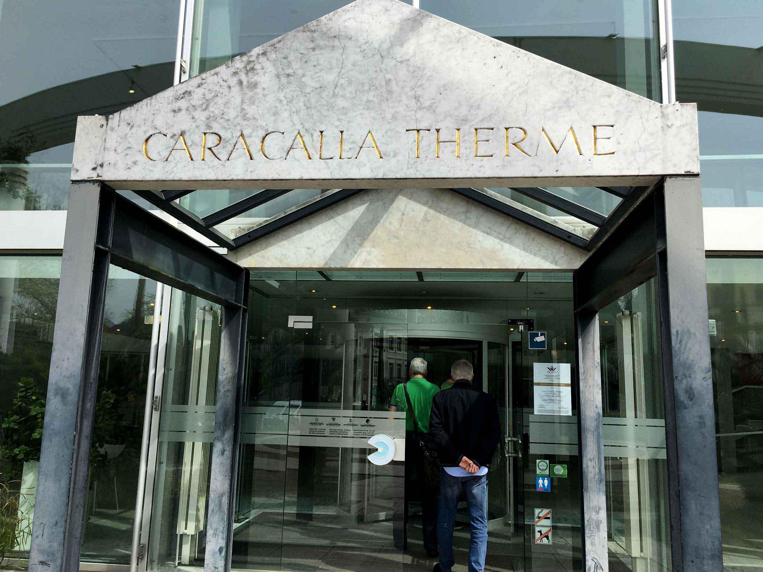 Caracalla Therme,Baden Baden, Germany. Image©thingstodot.com