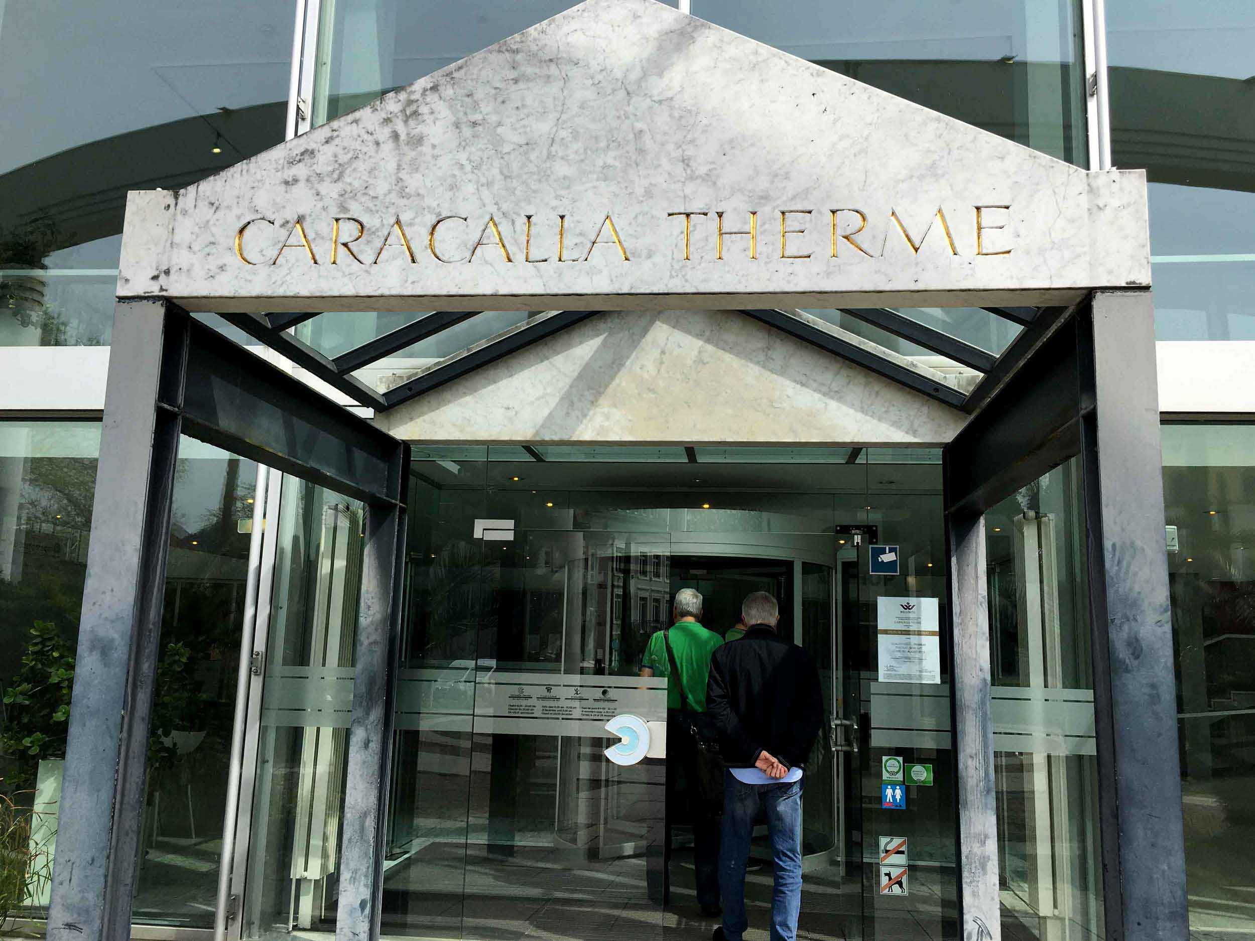 Caracalla Therme, Baden Baden, Germany. Image©thingstodot.com