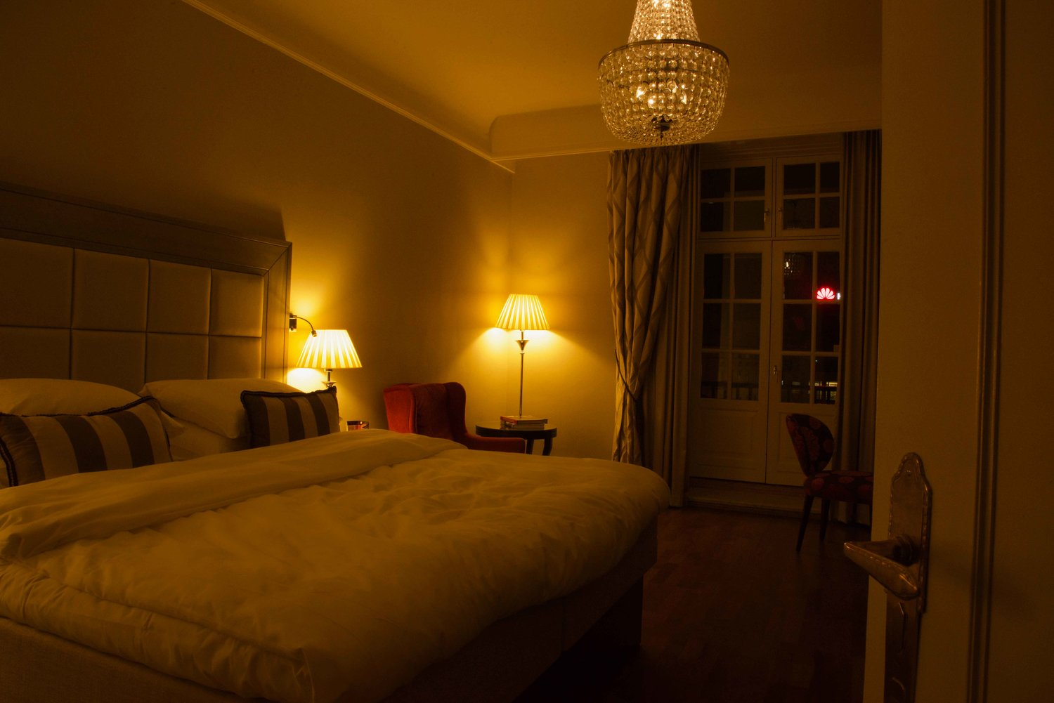 The Grand Hotel, Oslo, Norway, superior room. Image©thingstodot.com