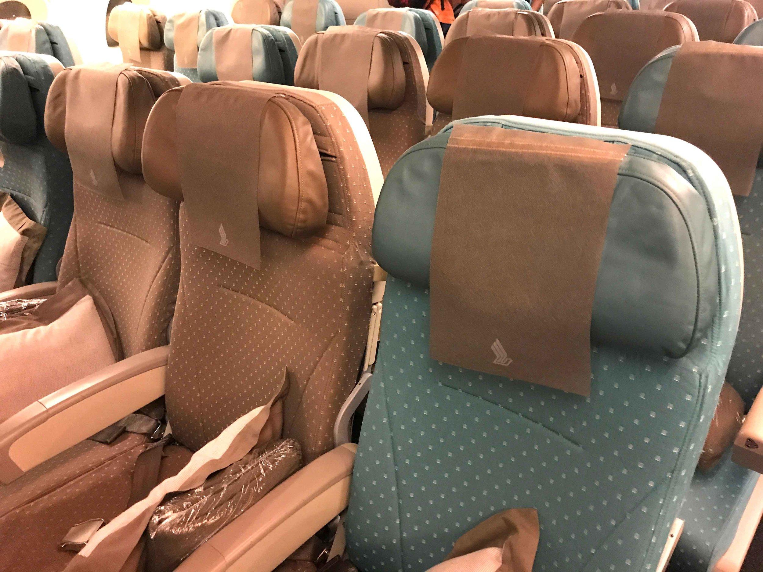 Singapore Air,Delhi to Singapore, A380. Image©thingstodot.com