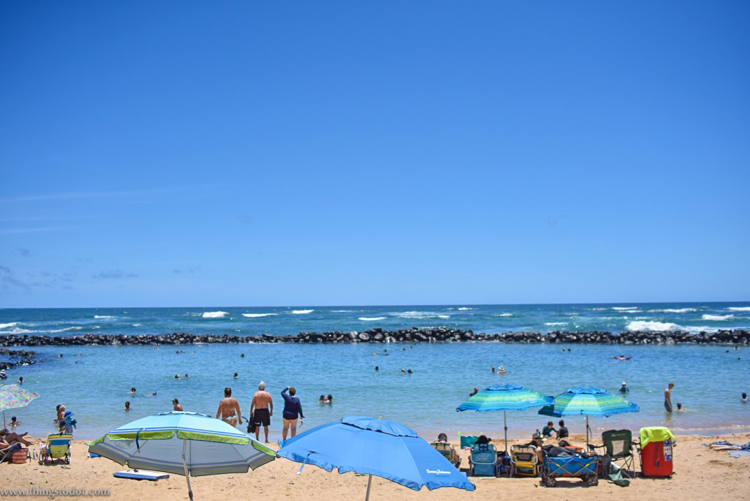 Lydgate Beach Park, Kauai, Hawaii. Image@www.thingstodot.com