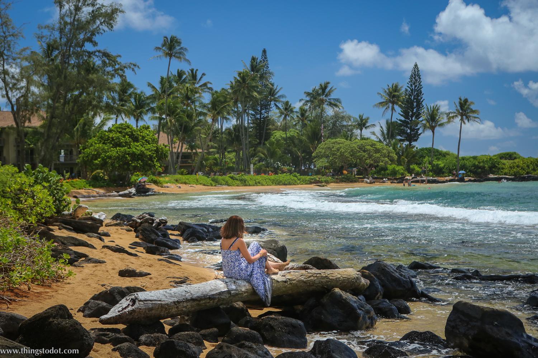 Wailua Beach,Kauai, Hawaii. Photo: Jonathan Moeller (www.jmoellerphoto.com).Image©www.thingstodot.com