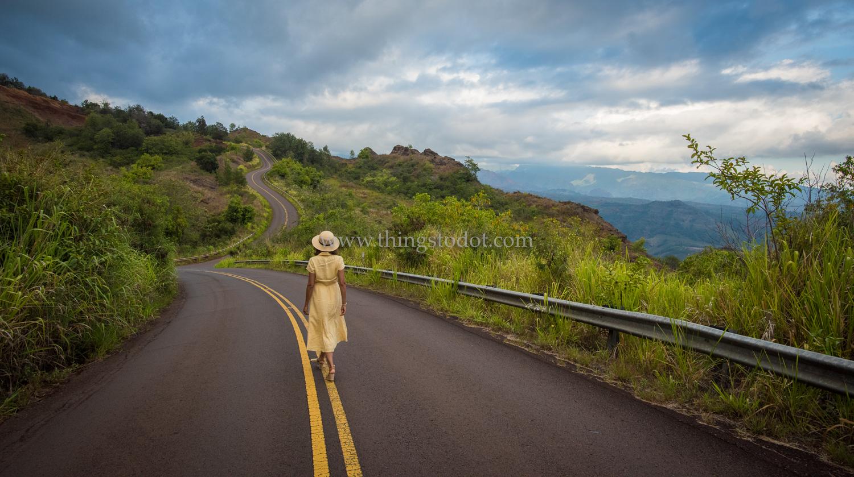Waimea Canyon Drive, Kauai, Hawaii.