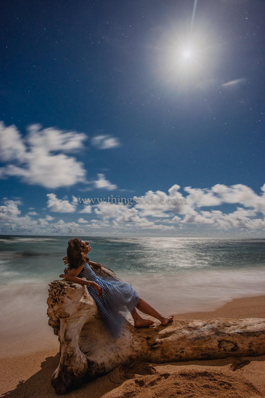 Lydgate Beach, Kauai, Hawaii.