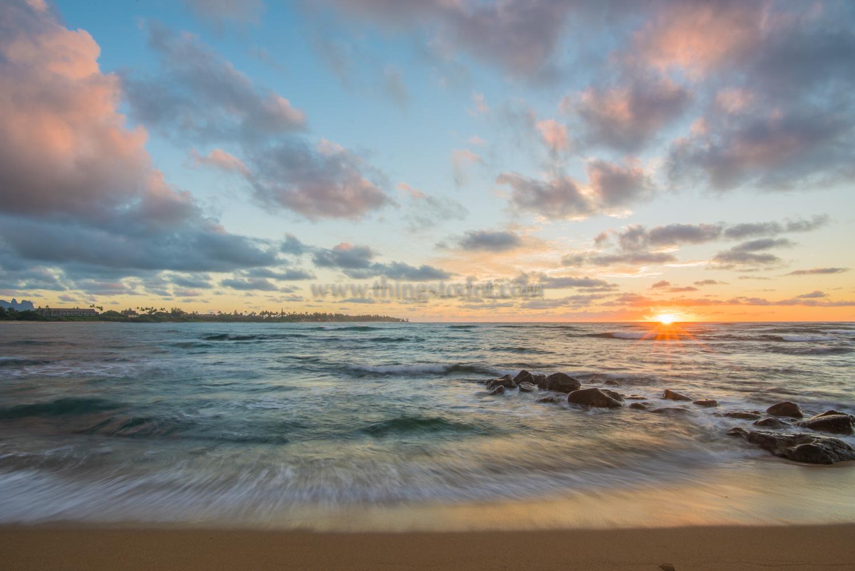 Lydgate Beach State Park, Kauai, Hawaii.