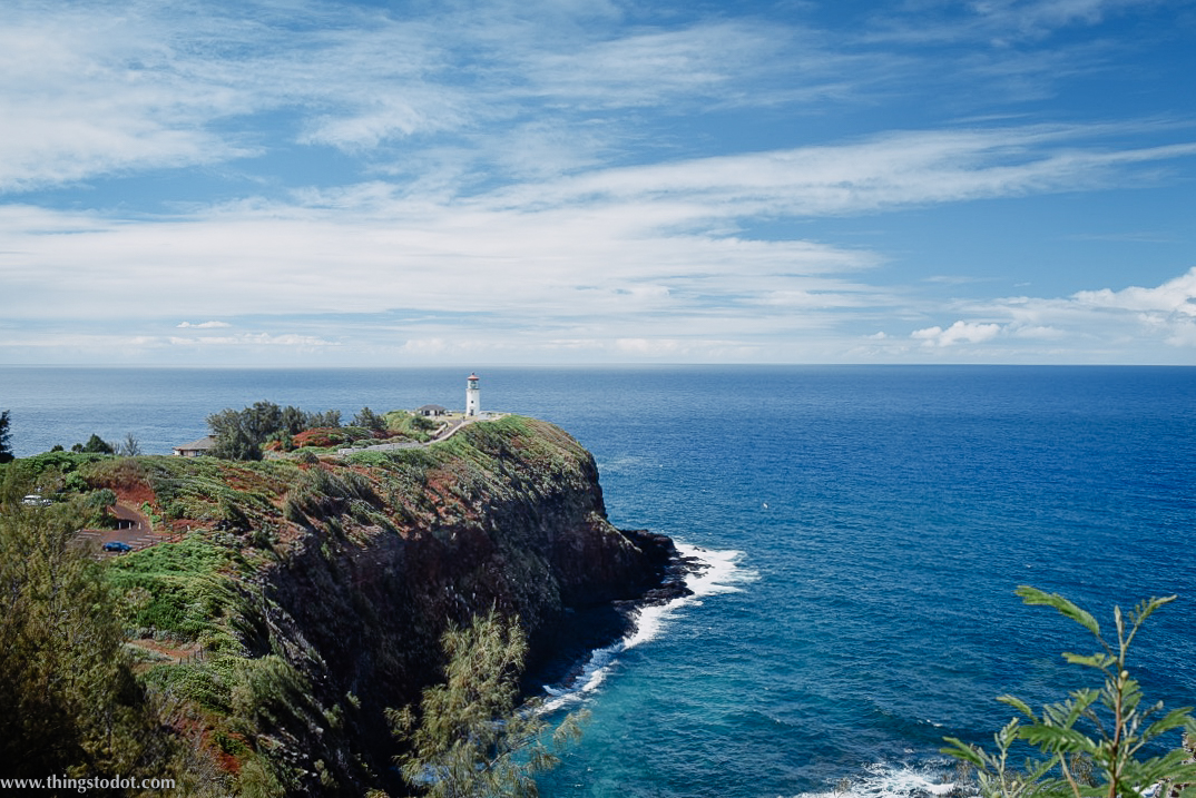 Kilauea Lighthouse, Kauai, Garden Island, Hawaii. Photo: Gunjan Virk. Image©www.thingstodot.com.