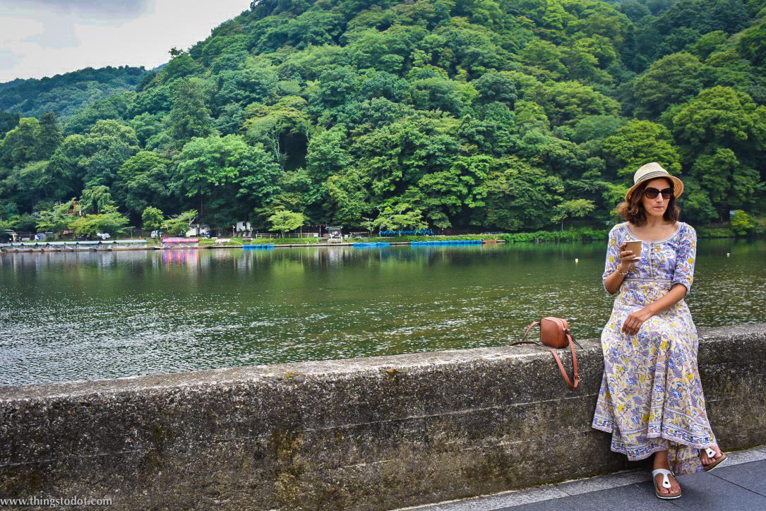Katsura river, Arashiyama, Kyoto, Japan. Image©www.thingstodot.com.
