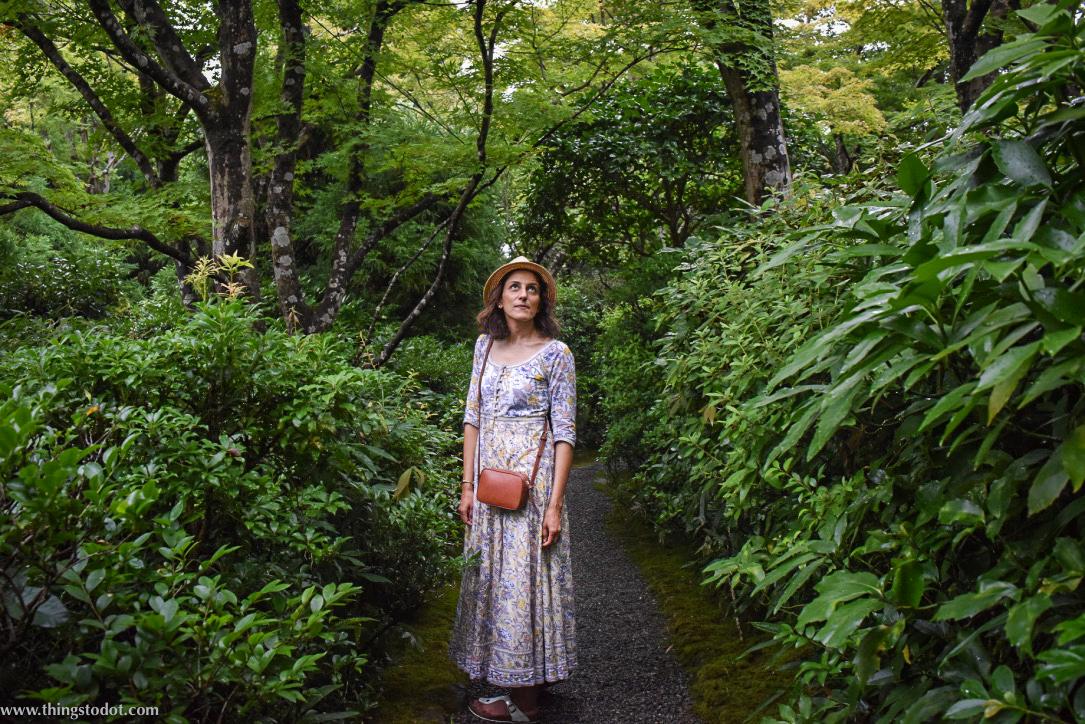 Okochi Sanso Villa, garden, teahouse, Kyoto, Japan. Image©www.thingstodot.com
