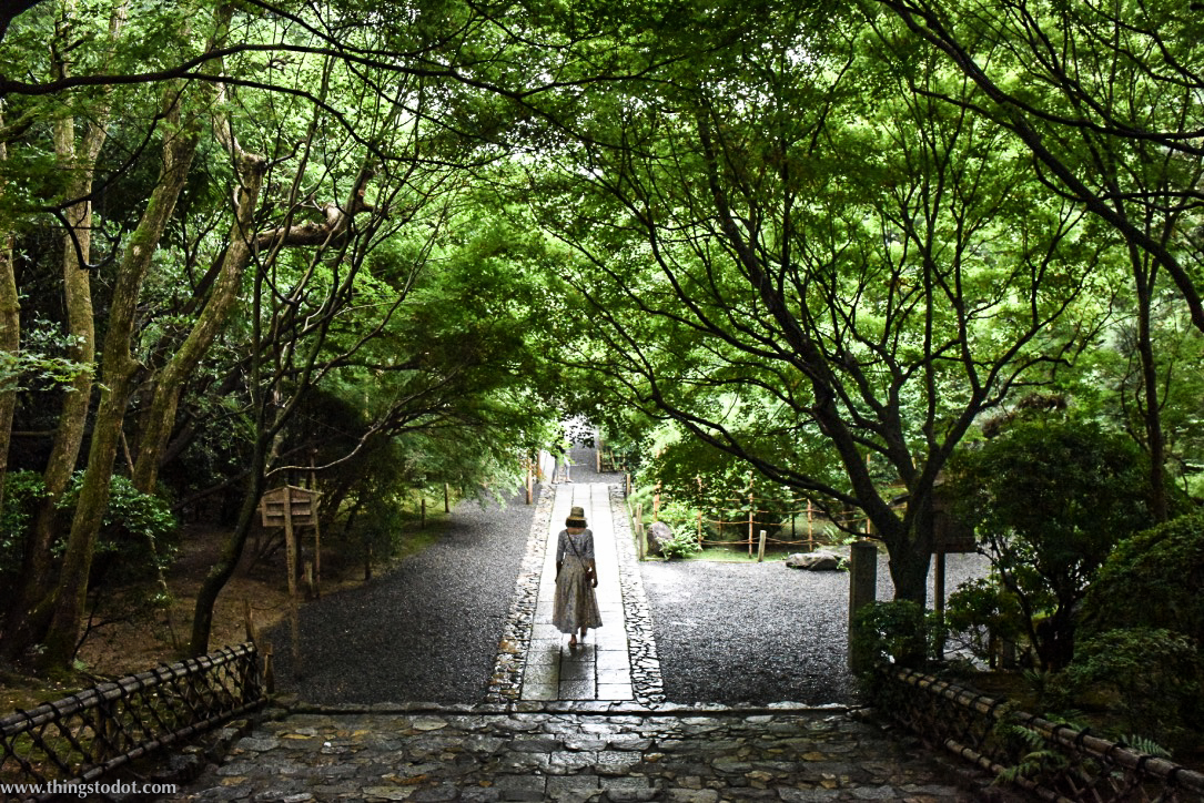 Ryoan-ji, Zen Temple, Kyoto, Japan. A UNESCO World Heritage Site. Image©www.thingstodot.com