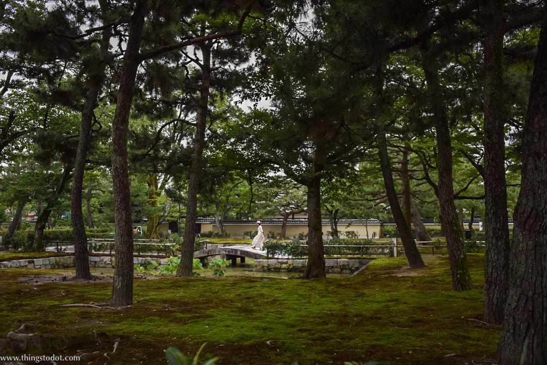 Kenin-ji Temple, Zen garden, Kyoto, Japan. Image©www.thingstodot.com