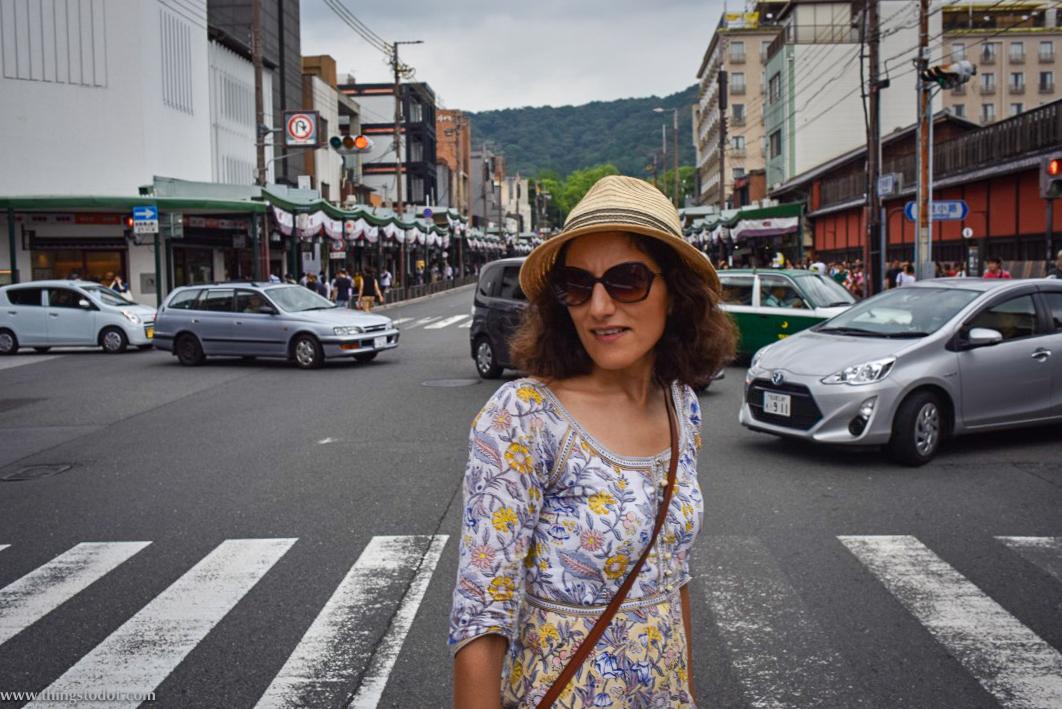 Shijo Avenue, Kyoto, Japan. Image©www.thingstodot.com