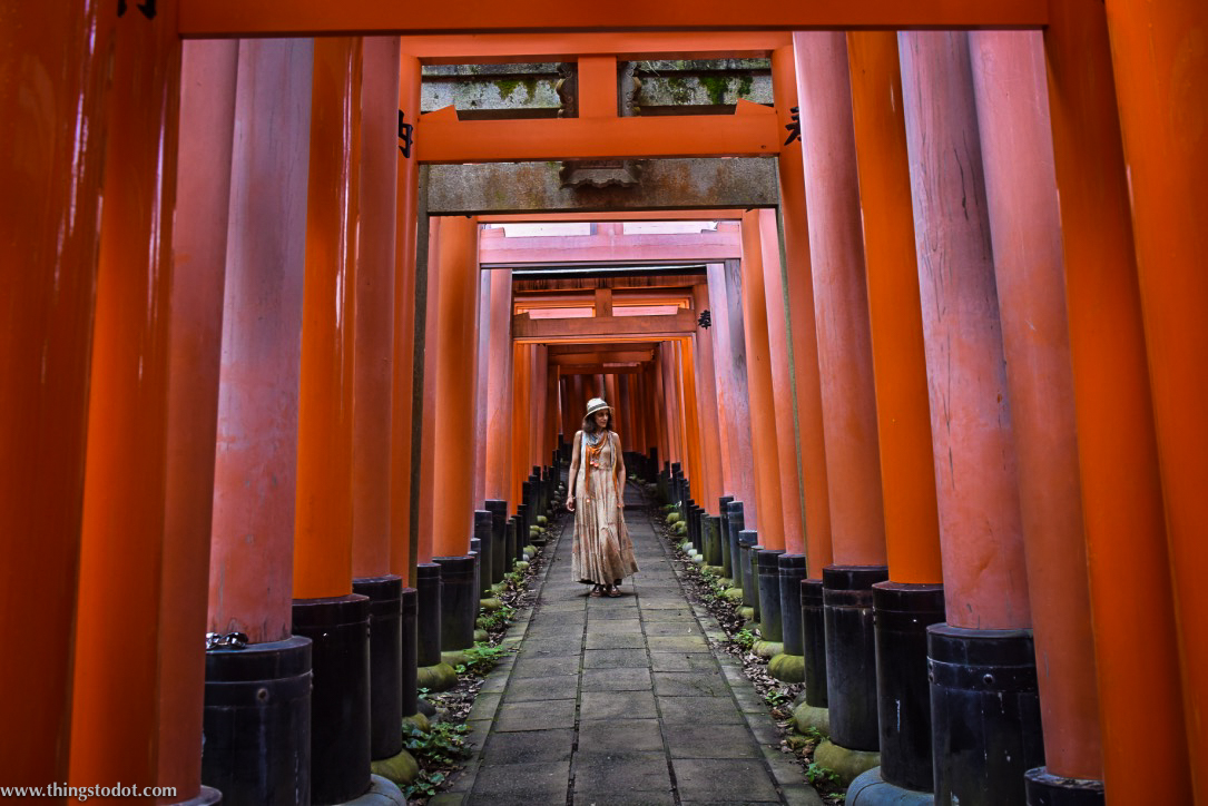 Inari Shrine, Kyoto, Japan. Image©www.thingstodot.com