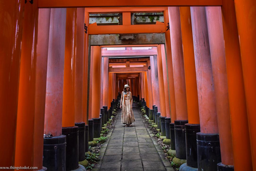 Fushimi Inari Shrine,Kyoto, Japan. Image©www.thingstodot.com.