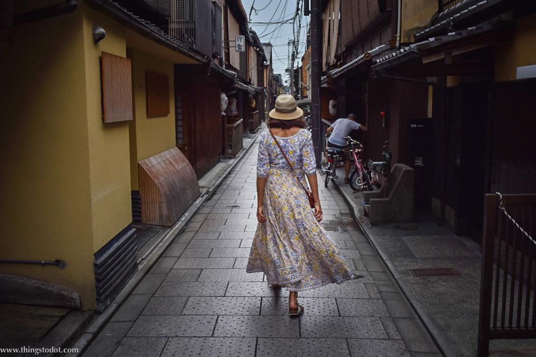 Gion, back alleys,Kyoto, Japan. Image©www.thingstodot.com.