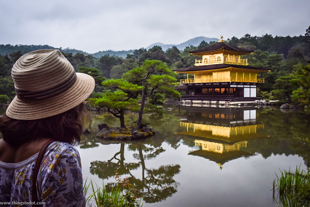 Kinkaku-ji,Kyoto, Japan. Image©www.thingstodot.com.