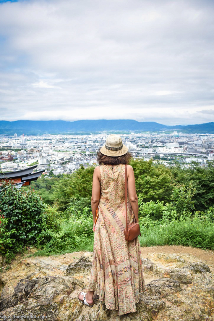 Ritu Kumar cotton dress, Kyoto, Japan. Image©www.thingstodot.com