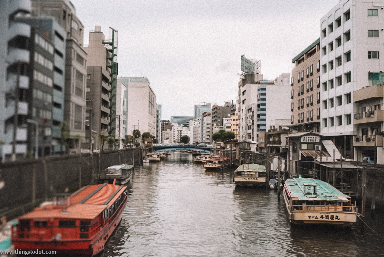 Riverside Ryogoku, Tokyo, Japan. Image©www.thingstodotcom.