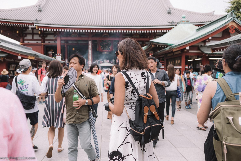 Nakamise Dori, Senso-ji Temple, Tokyo, Japan. Image©www.thingstodot.com.