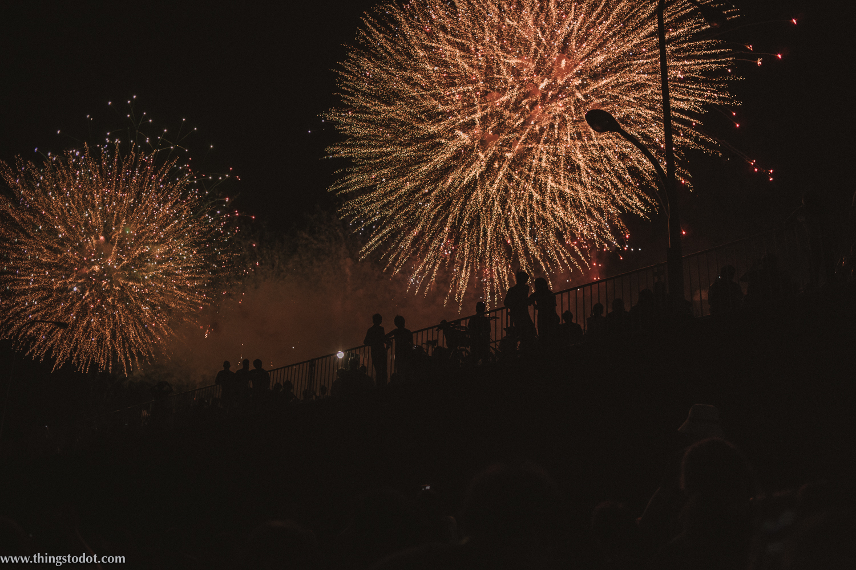 Adachi Fireworks Festival, Tokyo, Japan. Image©www.thingstodot.com.