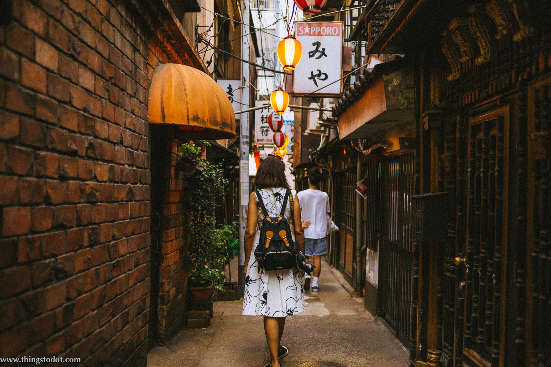 Nonbei Yokocho,  'Drunkard's Alley', Shibuya, Tokyo, Japan. Image©www.thingstodot.com.
