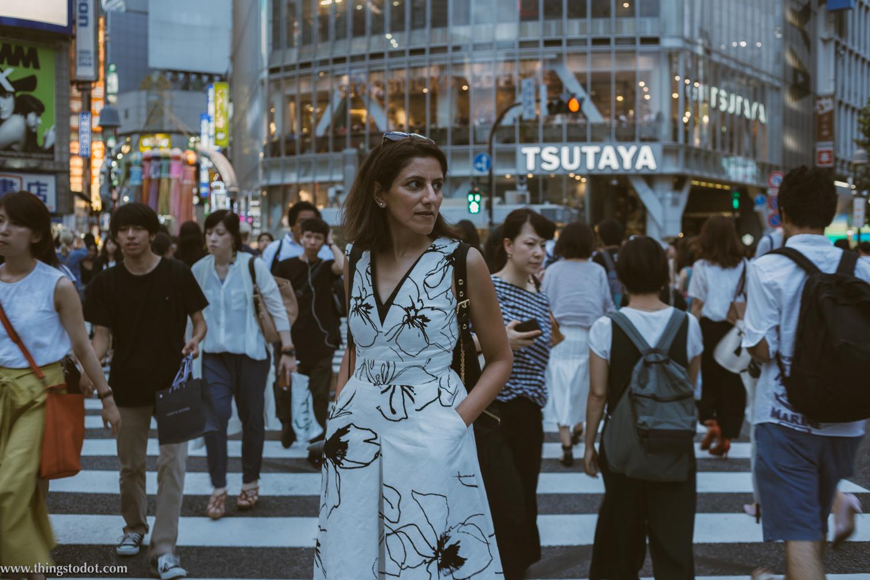 Shibuya Crossing, Tokyo, Japan. Image©www.thingstodot.com.