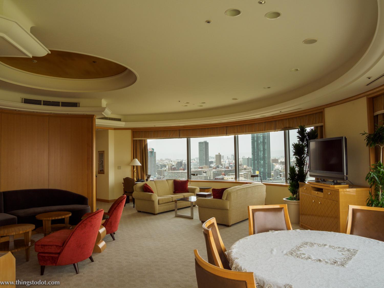 Sakura Suite, Imperial Hotel, Osaka, Japan. Photo: Gunjan Virk. Image©www.thingstodot.com.