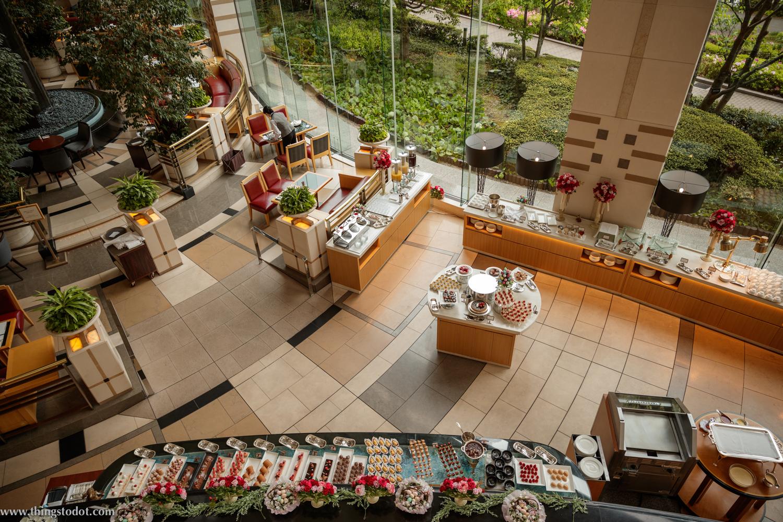 Sweets Buffet, The Park, Imperial Hotel, Osaka, Japan. Photo: Kosuke Arakawa. Image©www.thingstodot.com.