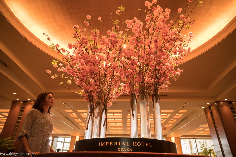 Imperial Hotel, Osaka, Japan. Photo: Kosuke Arakawa. Image©www.thingstodot.com.