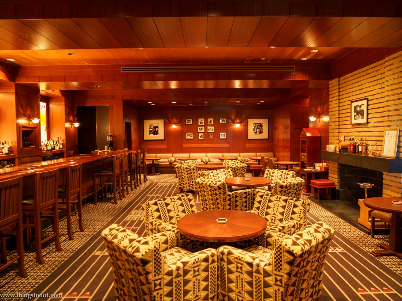 Old Imperial Bar, Imperial Hotel, Osaka, Japan. Photo: Kosuke Arakawa. Image©www.thingstodot.com.