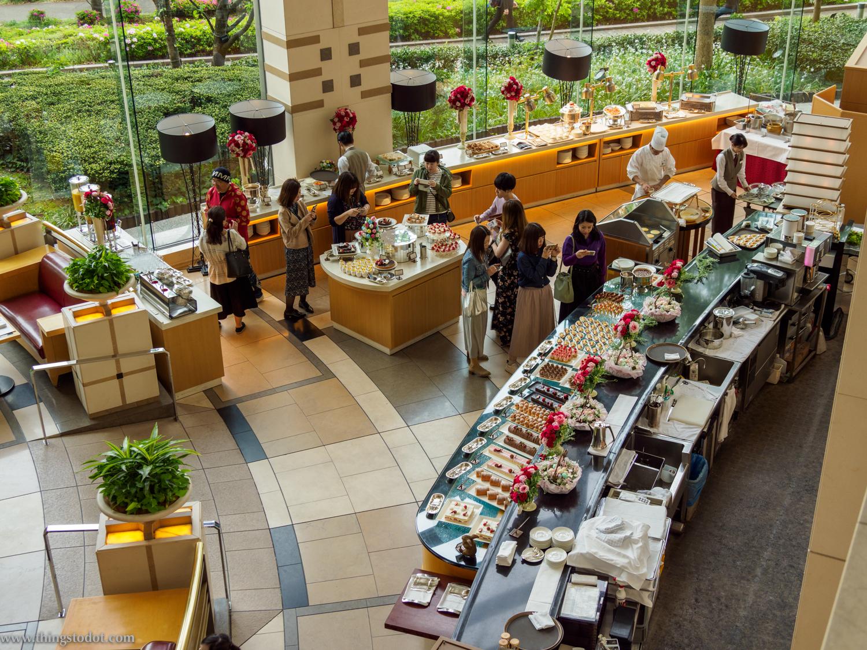 Imperial Hotel Osaka,Afternoon tea.Photo: Gunjan Virk. Image©www.thingstodot.com.