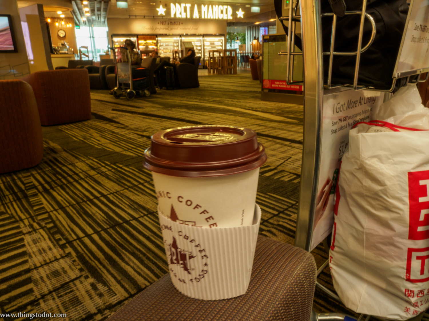 Pret A Manger, Singapore Changi Airport, Singapore. Image©thingstodot.com