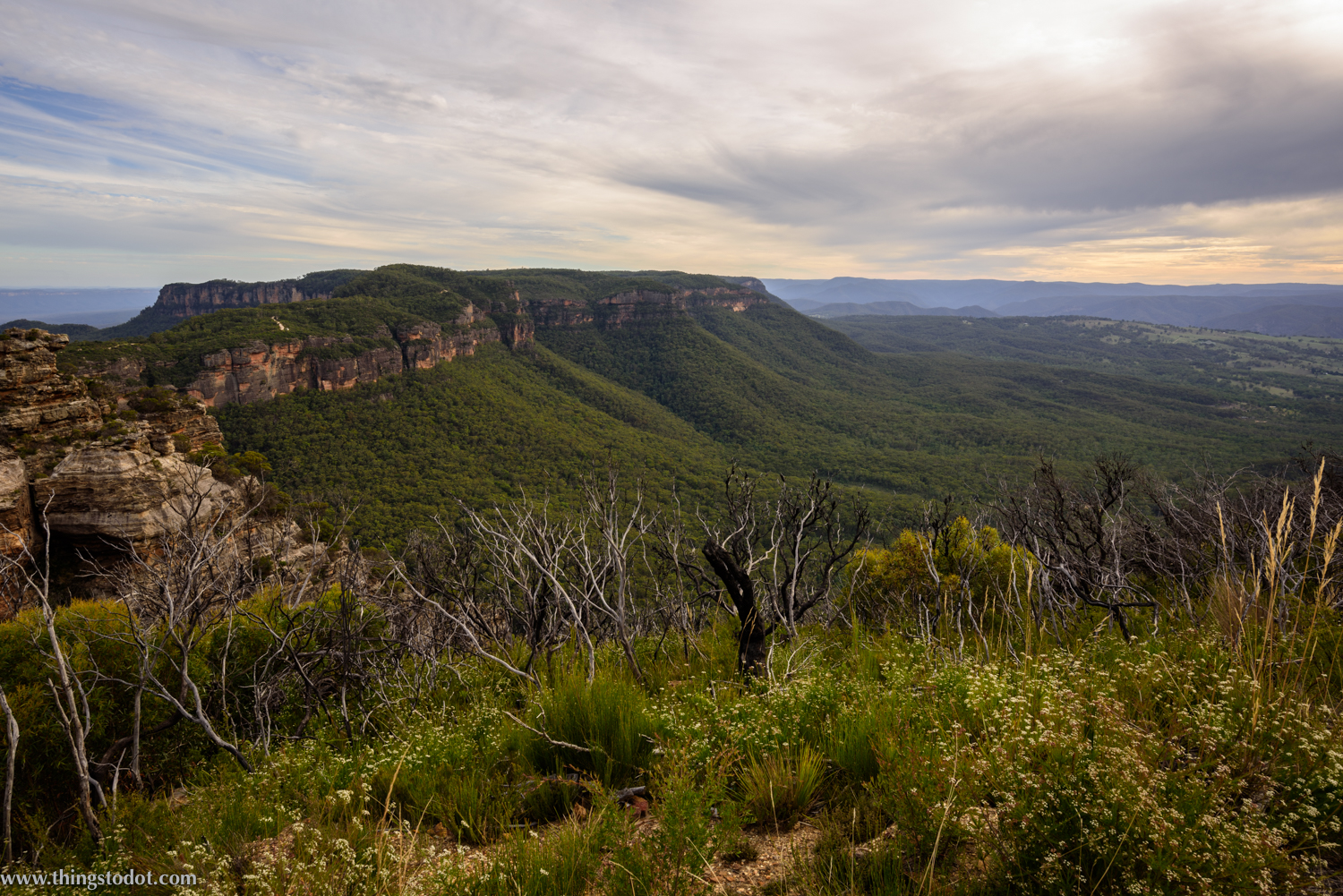 Blue Mountains, Cahill's Lookout, New South Wales, Australia. Photo: Gunjan Virk. Image©www.thingstodot.com.