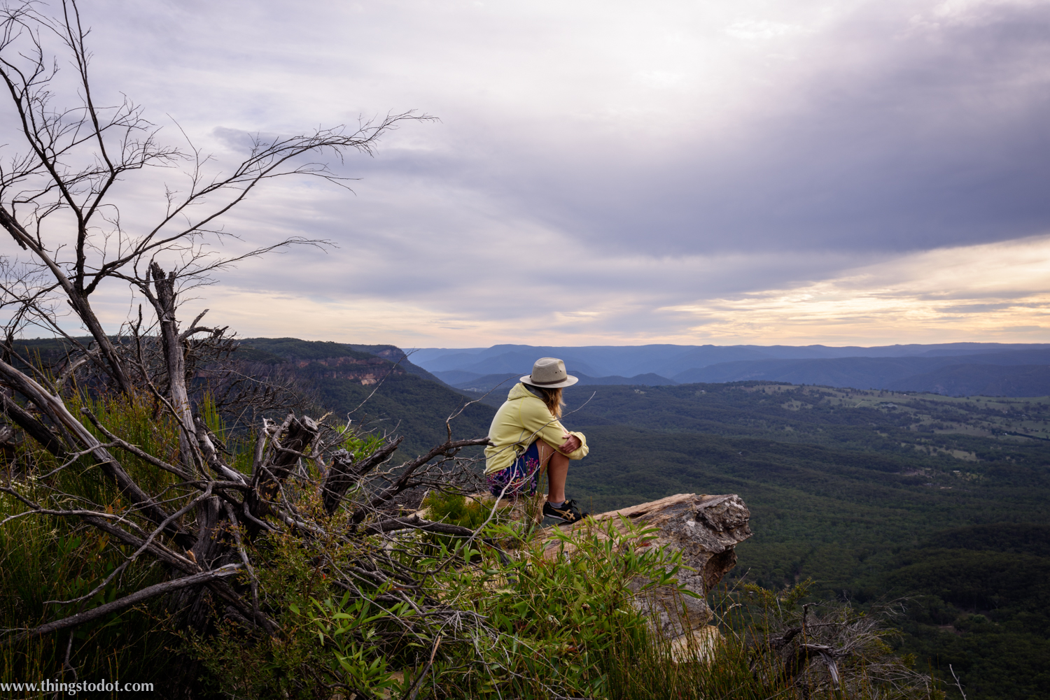 Blue Mountains,Cahill's Lookout, New South Wales, Australia. Photo: Gunjan Virk. Image©www.thingstodot.com.