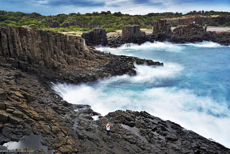 Bombo Quarry, Kiama, NSW, Australia. Photo: Brad Chilby (http://chilby.com.au). Image©www.thingstodot.com.