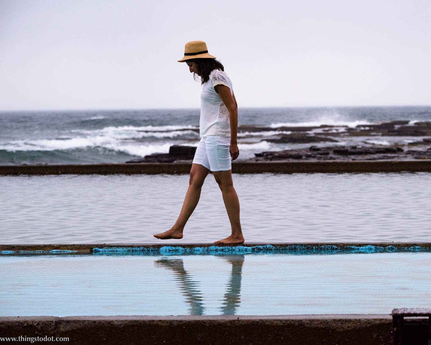 Wombarra Ocean Pool, Wombarra (Wollongong), New South Wales, Australia. Photo: Brad Chilby (http://chilby.com.au). Image©www.thingstodot.com.