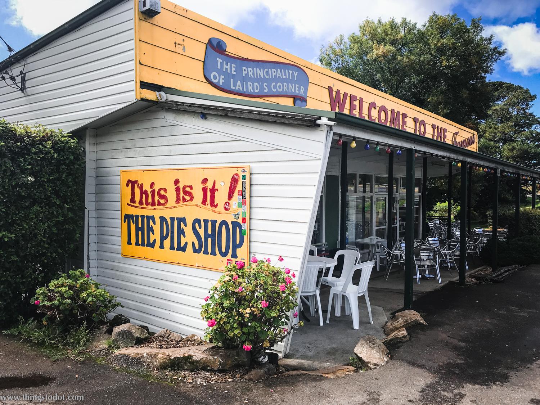 Robertson Pie Shop, New South Wales, Australia. Photo: Gunjan Virk. Image©www.thingstodot.com.