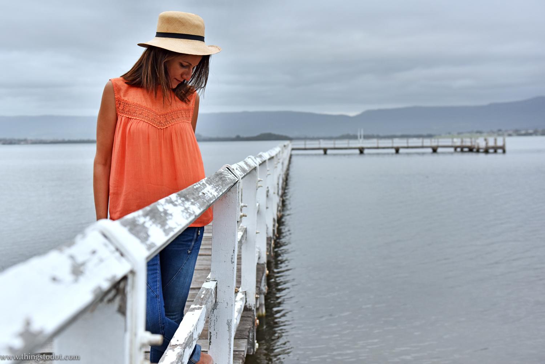 Rosie Boylan hats, Sydney, Australia. Photo: Brad Chilby (http://chilby.com.au), Lake Illawara. Image©www.thingstodot.com.
