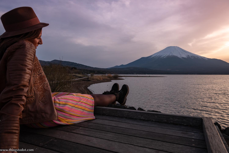 Lake Yamanakako, Fuji, Japan. Photo: Yuga Kurita. Image©www.thingstodot.com.