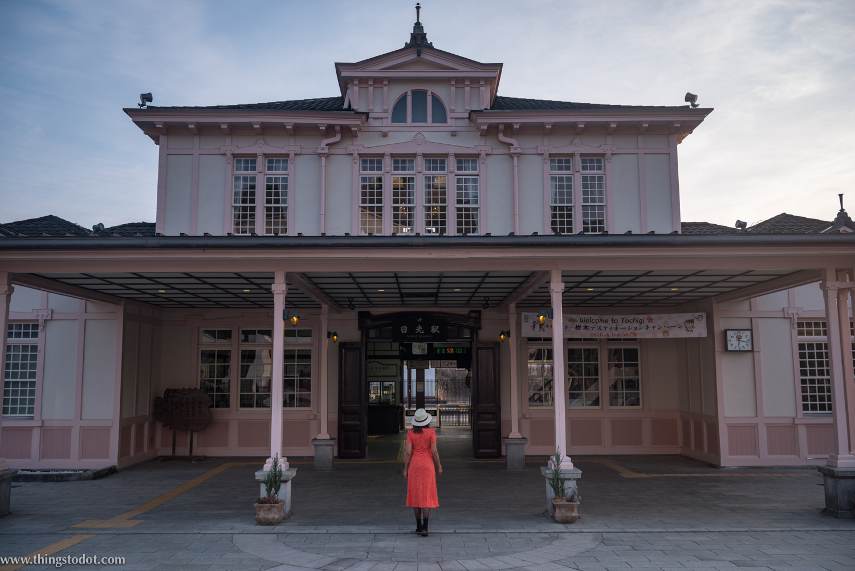 Nikko Railway Station, Nikko, Japan. Image©www.thingstodot.com. Photo: Yuga Kurita.