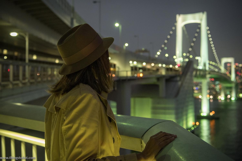Rainbow Bridge, Tokyo, Japan. Photo: Yuga Kurita. Image©www.thingstodot.com.