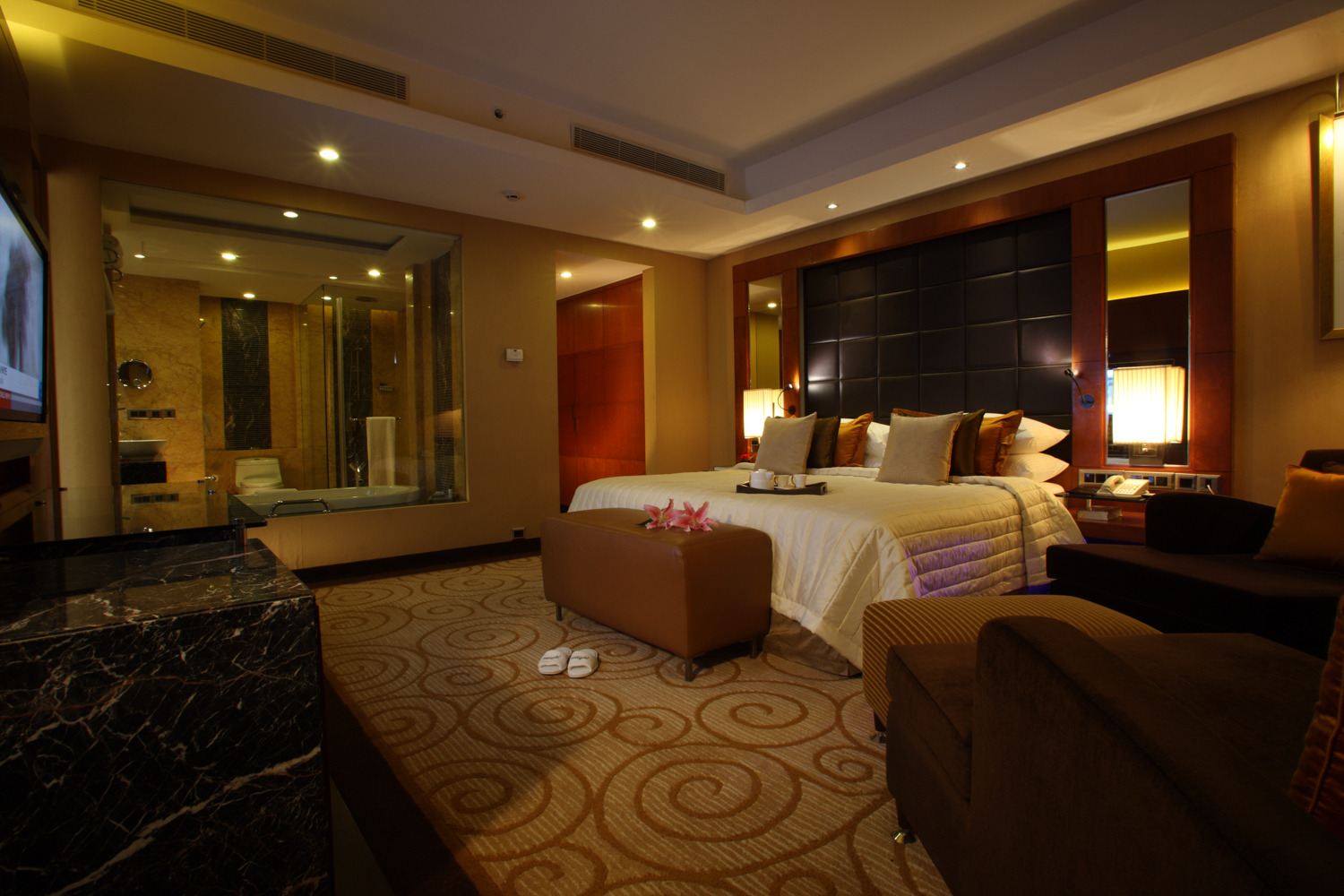 Deluxe Suite, Radisson Blu Plaza Delhi Airport Hotel. www.thingstodot.com.