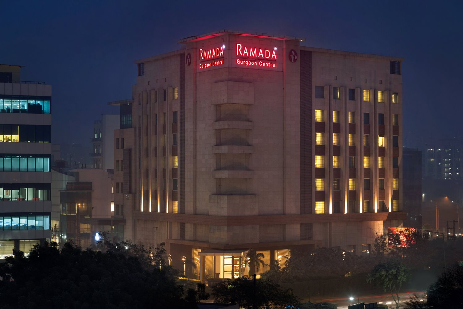Ramada Gurgaon Central, Gurugram, India.