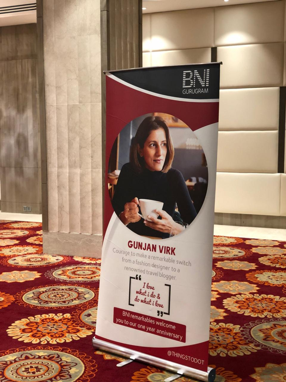 BNI Conference, Ramada Gurgaon Central, Gurugram, India.