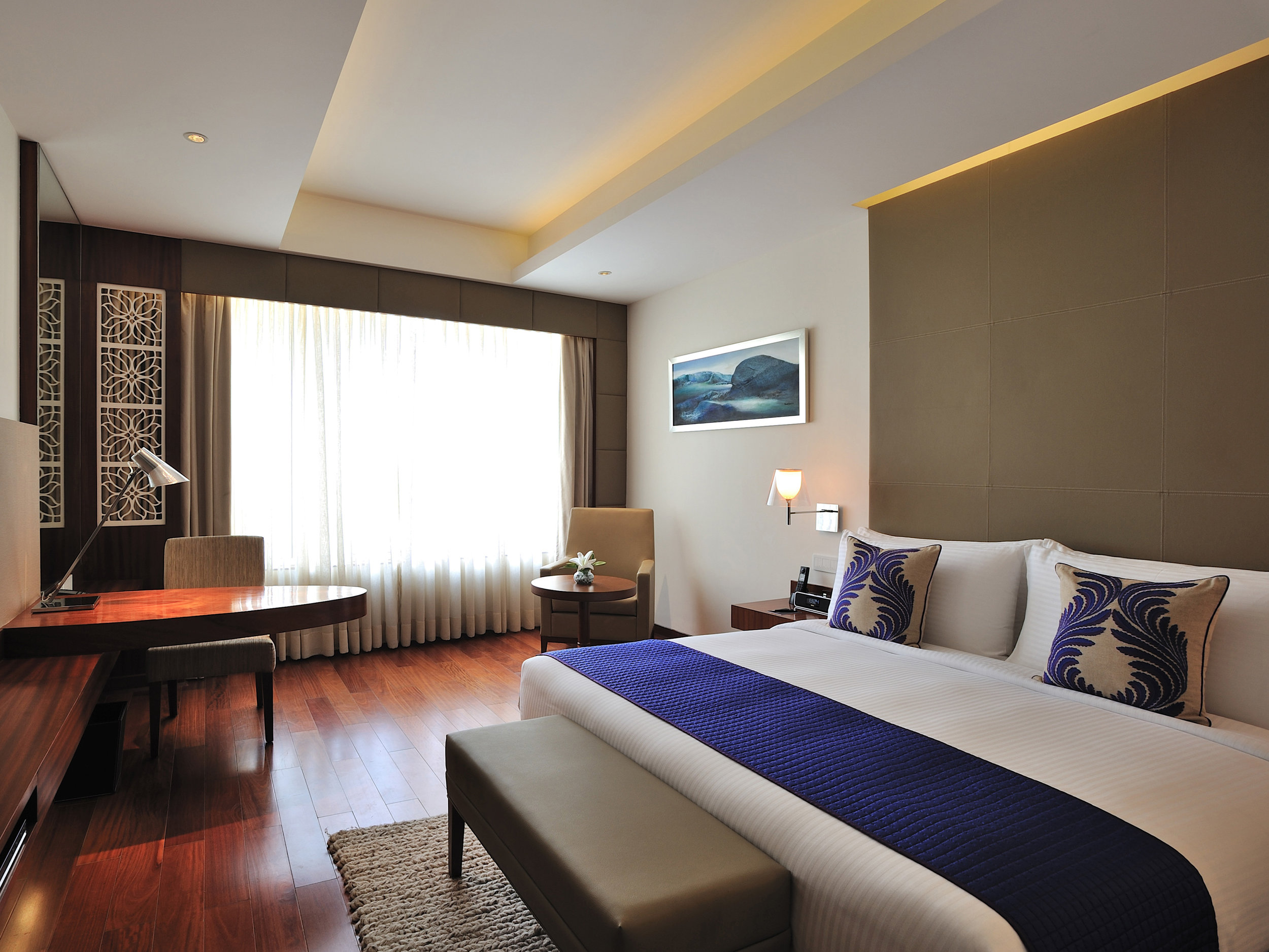 Anya Hotel, Gurugram/Gurgaon, Deluxe Room. Delhi NCR, India.