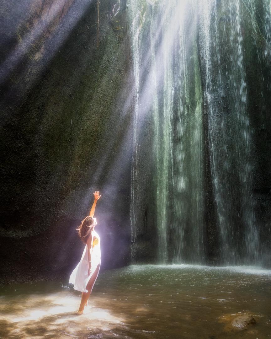 Tukad Cepung Waterfall, Bali, Indonesia. Photo: Adi Sumerta.