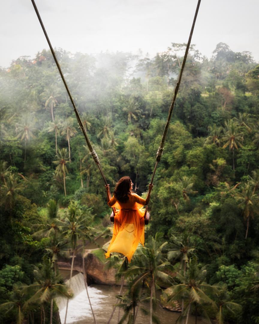 The Bali Swing, Bali, Indonesia. Photo: Adi Sumerta.