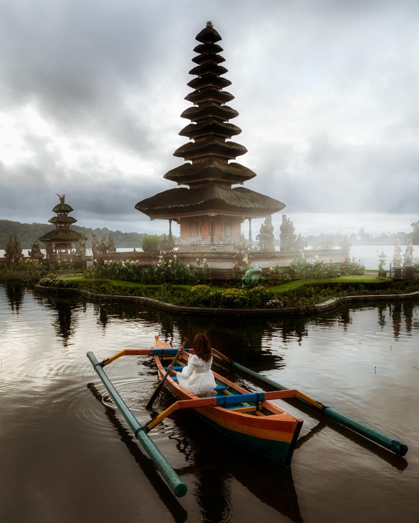 Ulun Danu Beratan Temple, Bali, Indonesia. Photo: Adi Sumerta.