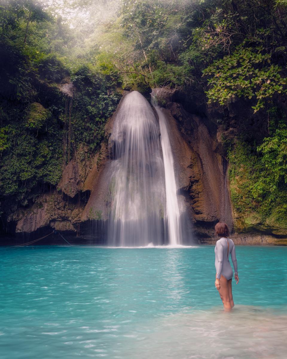 Kawasan Falls, Badian, Cebu, Philippines. Photo: Brad Chilby (https://chilby.com.au). Photo© https://www.thingstodot.com